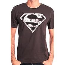 Superman Superman Logo Metal - Camiseta Hombre
