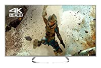 Panasonic TX-65EX700B 65-Inch 1600 Hz Widescreen 4K Ultra HD Smart LED TV with Freeview Play (2017 Model) - Silver