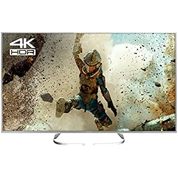 Panasonic TX-58EX700B 58-Inch 1600 Hz Widescreen 4K Ultra HD HDR Smart LED  TV with Freeview Play (2017 Model) - Silver
