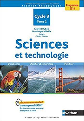 Sciences et technologie Tome 2 (02)