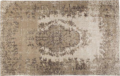 Kare Design 39972 Teppich Kelim Pop, Beige, 170x240 cm