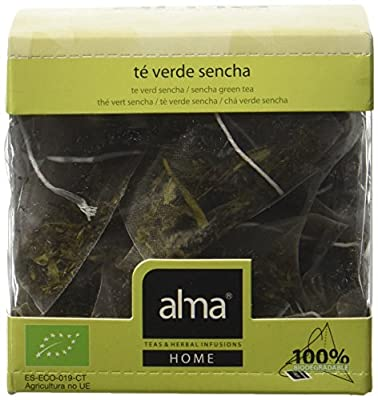 ALMA Sencha Thé Vert Bio 15 Pyramides 30 g