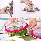 TAOtTAO Preservative Cover Küche Kühlschrank Lebensmittelversicherung Sealed Cover Mikrowelle Heizung Schüssel Abdeckung (klar)