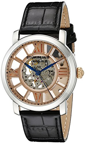 stuhrling-original-winchester-terrace-mens-mechanical-watch-with-rose-gold-dial-analogue-display-and