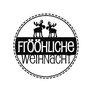28872000 Stempel Frööhliche Weihnacht , 3cm ø