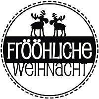 28872000 Stempel Frööhliche Weihnacht, 3cm ø