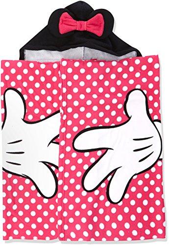 Minnie Mädchen Classic dots Strandtuch, (PINK 2), One Size