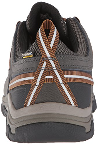 Keen Targhee III WP, Chaussures de Randonnée Basses Homme Noir (Black Olive/golden Brown Black Olive/golden Brown)