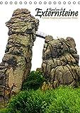 Rund um die Externsteine (Tischkalender 2019 DIN A5 hoch): Kultstätte, Kraftort und verwunschene Wälder (Monatskalender, 14 Seiten) (CALVENDO Orte) - Michael Weiß