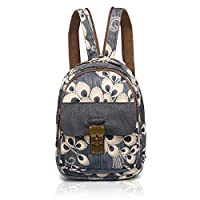 YOVIEE Designer Women Cotton Prints Backpack Multipurpose Backpack for Ladies Artistic Pattern Girl