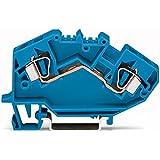 782–604–Set de 2L de durchgangsklemme 6qmm Azul