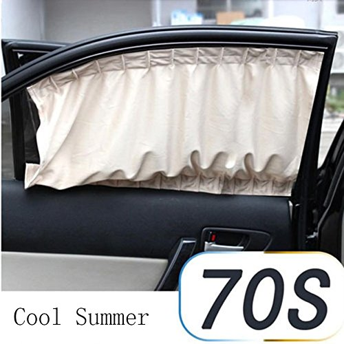 Car Sun Shade Curtain for Side Window for baby kids children - Car ...