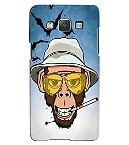 Citydreamz Monkey Smoking/Funny/Hat Hard Polycarbonate Designer Back Case Cover For Samsung Galaxy On5 Pro