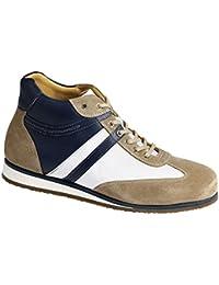 PiedroPiedro Mens Sports Shoes 3570 - Sandalias con cuña hombre , color Azul, talla 45.5 EU