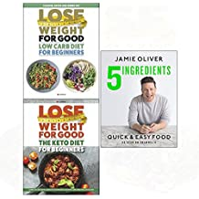 Quick & easy food[hardcover], keto diet for beginners, low carb diet 3 books collection set