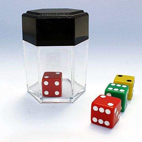 NEW DICE BOMB PLUS Zaubertrick Würfel verwandelt sich in viele Mini-Würfel, in Salz oder ändert die Farbe Zaubertricks für Anfänger Zauberartikel + deutschsprachiger Anleitung von Its Magic Zaubershop (Anfänger Zaubertricks)