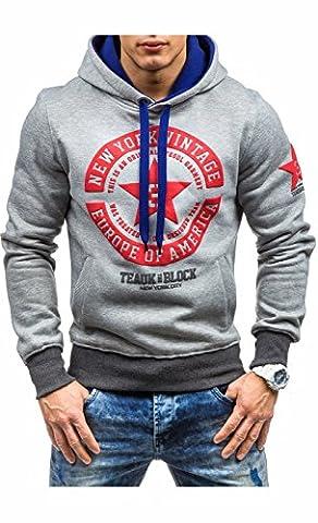 UMilk Herren Casual Unisex Sport Fashion Hoodie Sweatshirt