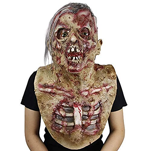 Horrormaske Unheimlich Resident Evil Zombie Mask Walking