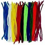 """PRANSUNITA Pipe Cleaners Multi Color Set of 100, 12"""" Length"""