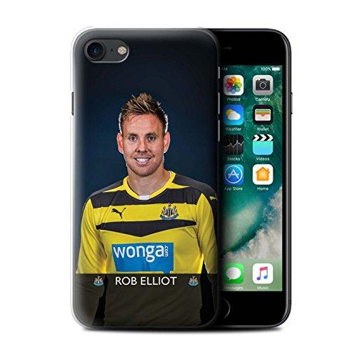 Offiziell Newcastle United FC Hülle / Case für Apple iPhone 7 / Pack 25pcs Muster / NUFC Fussballspieler 15/16 Kollektion Elliot