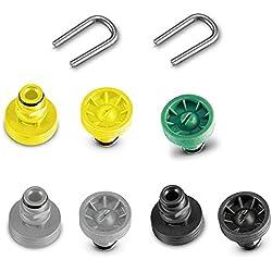 Karcher Kit d'embouts pour châssis de nettoyeur haute-pression Karcher T-Racer K2/K3/K4/K5/K6/K7 9 pièces