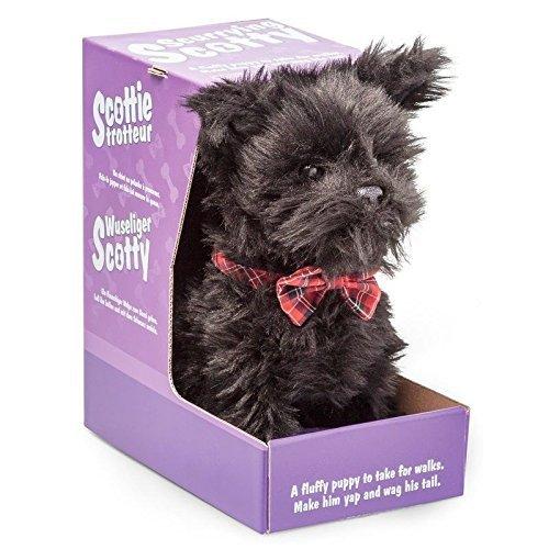 scurrying Scotty Juguete Para Cachorro Mascota Ladridos Control Remoto Perro Regalo Navidad