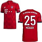 adidas FCB Heimtrikot 2018 2019 Kinder Müller 25 Gr 140