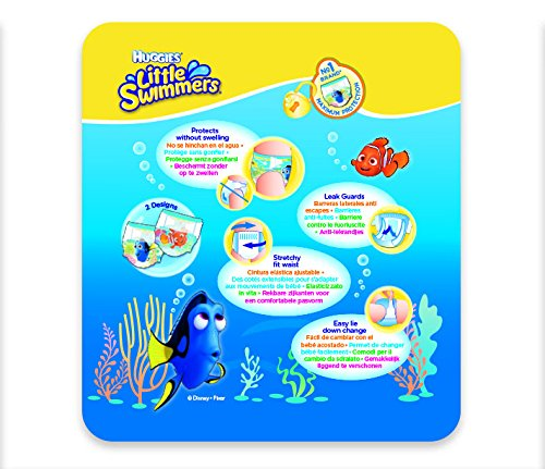 Huggies Little Swimmers Swim Nappies Size 2-3 3-8kg 12 per pack - 4