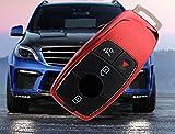 Emblem Trading Schlüsselhülle Cover Gummi Rot Passend Für E Klasse W213 E63 AMG