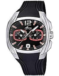 91774e4c81d9 Lotus 15756 6 - Reloj analógico de Cuarzo para Hombre con Correa de plástico