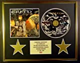 CREED/CD-Darstellung/ Limitierte Edition/COA/WEATHERED