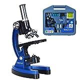 YVSoo Microscopios para Niños, 1200X Kit de Microscopio Ciencia...