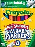 Best Crayola Jouets pour animaux - Crayola - 58-8125-e-000 - Feutre - 8 Mini Review