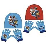 Arditex 864310 Set de bufanda, gorro y guantes, Azul, 2 años (Tamaño del fabricante:m) para Niños