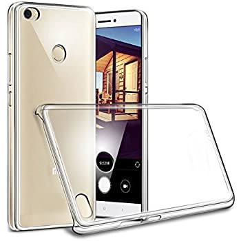 For Xiaomi MI Max Back Cover /MI Max Hard Cover/ Mi Max Crystal Clear Hot Transparent Flip Thin Hard Back Case Cover By Cellwallpro
