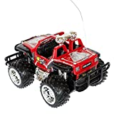 Roter Jeep Buggy Monstertruck HOT C...