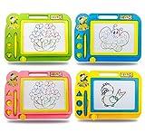 1 stück löschbare bunte doodle kritzeln magnetische reißbrett pädagogisches spielzeug magie skizze bord