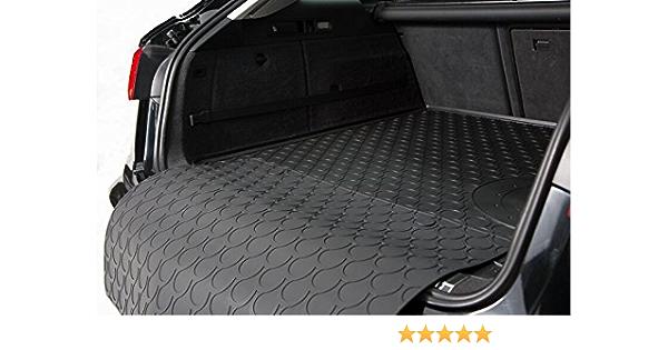 Kofferraummatte mit abnehmbarem Sto/ßstangenschutz fahrzeugspezifisch AZUGA