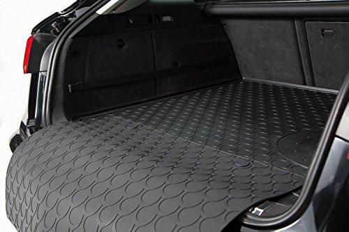 Gummi Kofferraummatte Gledring fahrzeugspezifisch inkl. Stoßstangenschutz AZ90002023