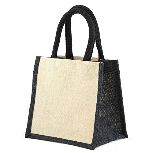 Shugon - Jaipur - Borsa Shopping - Naturale/Nero