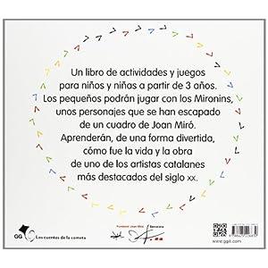 Mironins. Un libro para jugar y aprender con Joan Miró. (Los cuentos de la cometa)