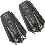 Leki Silent - Almohadilla para puntas de bastones de senderismo, color negro