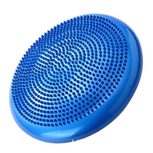 Yao Home Balance Disc PVC Balance Yogabälle Tragbare Massagekissen Massagekissen Blau