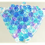2 Packs Glam Decor Water Beads® Aqua Gems Bio Gel Balls Crystal Soil Wedding Vase Decoration (Multi)