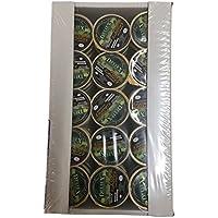 Bandeja de 45 unidades monodosis x 25 gramos de paté ibérico al pedro ximenez con pasas para untar en tus tostadas desayunos o canapés meriendas o cenas