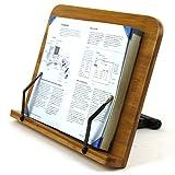 LH246-1 Leseständer Buchhalter aus Natur Bamboo