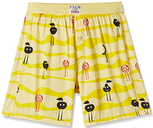 Palm Tree Baby Boys' Shorts (131206322627 C302_Sunshine(C302)_9-12 months)