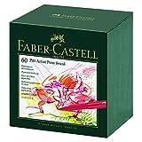 Faber-Castell 167150 - Tuschestift Pitt artist pen, Stärke: B, 60er Atelierbox