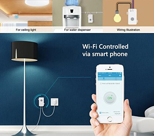 Broadlink SC1 WiFi telecomando Smart Light switch, domotica wireless controllo timer interruttore (1 pezzi), compatibile con alexa & google home - 3