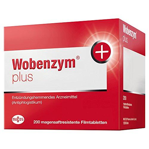 Preisvergleich Produktbild Wobenzym plus Tabletten,  200 St.
